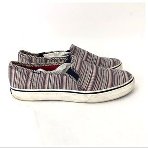 Keds Striped Athletic Flats Size 10